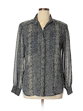 Nicola Long Sleeve Button-Down Shirt Size 14