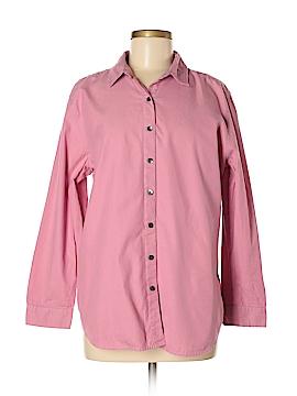 J.jill 3/4 Sleeve Button-Down Shirt Size M