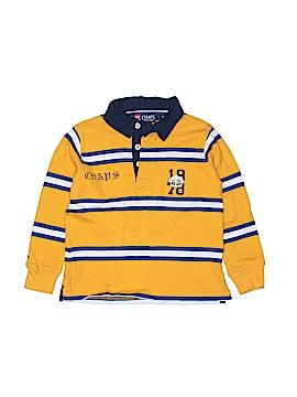 Chaps Long Sleeve Polo Size 5