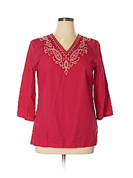 Rafaella 3/4 Sleeve Blouse Size 14