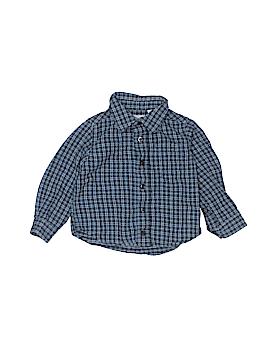 L.L.Bean Long Sleeve Button-Down Shirt Size 2T