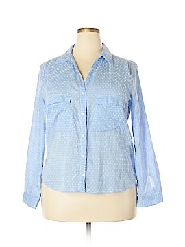 Zara Long Sleeve Button-Down Shirt Size XXL