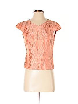 Juliana Collezione Short Sleeve Blouse Size 0