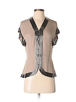 Parker Short Sleeve Silk Top Size XS