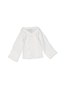 Carter's Long Sleeve Button-Down Shirt Preemie
