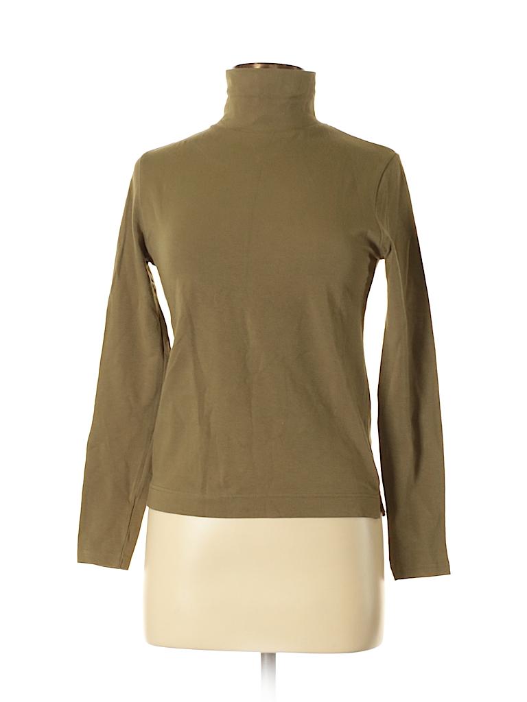 Pierre Cardin Women Long Sleeve Turtleneck Size M