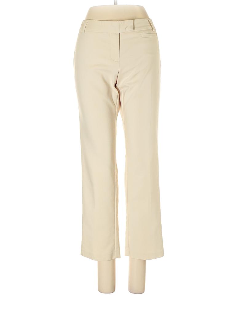 Van Heusen Solid Ivory Dress Pants Size 4 96 Off Thredup