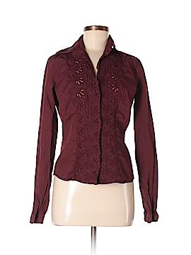 Sisley Long Sleeve Button-Down Shirt Size S