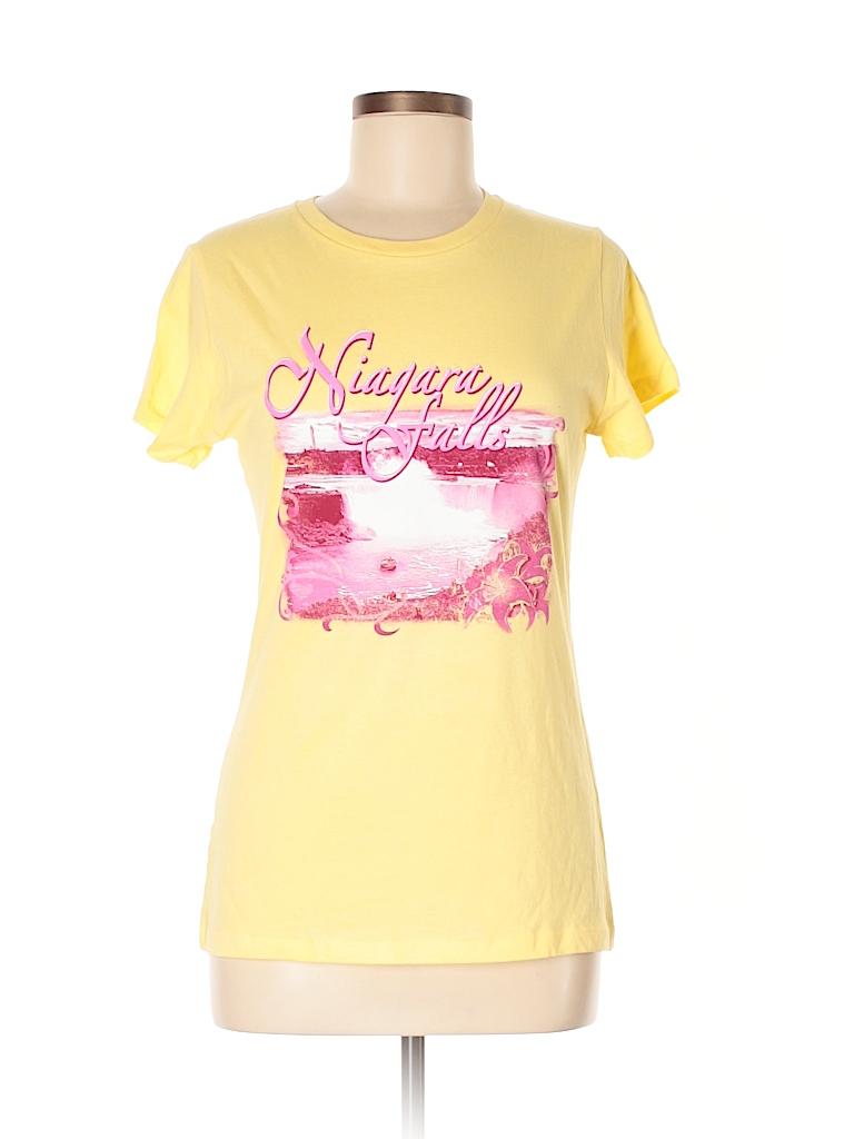 Alstyle Apparel & Activewear Women 3/4 Sleeve T-Shirt Size M