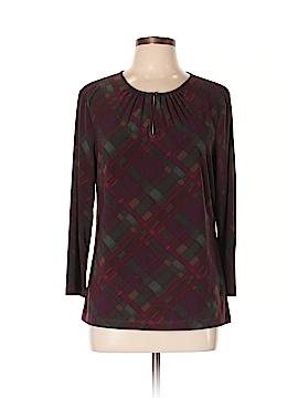 Chaps Long Sleeve Blouse Size XL