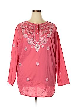 Denim 24/7 Long Sleeve Blouse Size 32W (Plus)