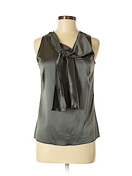 Barneys New York CO-OP Sleeveless Silk Top Size 4