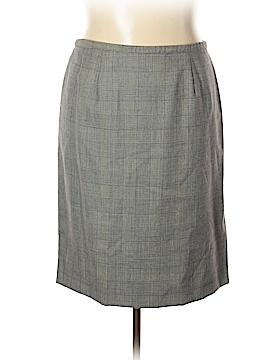 Dana Buchman Wool Skirt Size 18 (Plus)