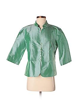 Armani Collezioni 3/4 Sleeve Silk Top Size 10