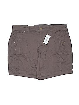 Style&Co Khaki Shorts Size 14w