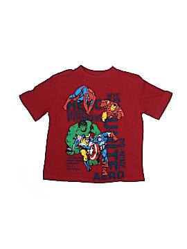 Marvel Short Sleeve T-Shirt Size 4