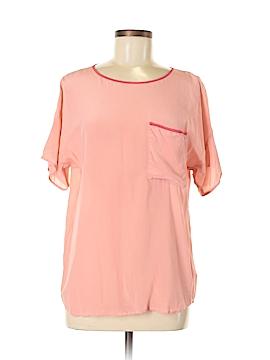 Joe Fresh Short Sleeve Silk Top Size M