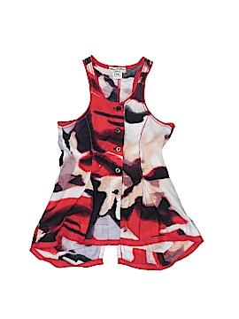 Eliane et Lena Sleeveless Button-Down Shirt Size 2