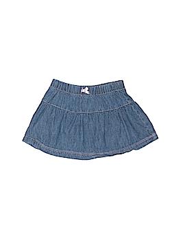 Small Wonders Denim Skirt Size 6-9 mo