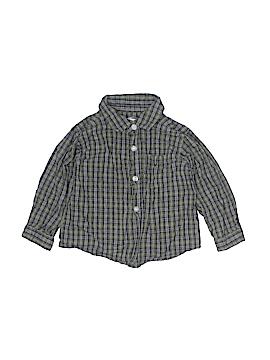 Greendog Long Sleeve Button-Down Shirt Size 24 mo