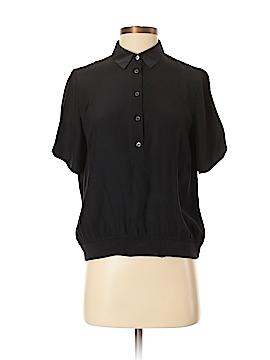 ATM Anthony Thomas Melillo Short Sleeve Silk Top Size P