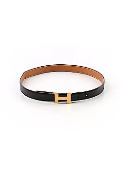 Hermès Leather Belt Size XS
