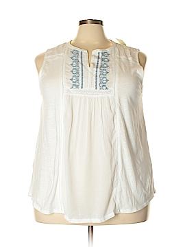 Lucky Brand Sleeveless Top Size 3X (Plus)