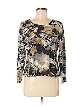 Laura Ashley Long Sleeve T-Shirt Size M (Petite)