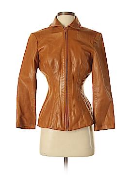 Neiman Marcus Leather Jacket Size 4
