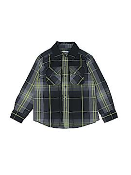 Tony Hawk Long Sleeve Button-Down Shirt Size 4