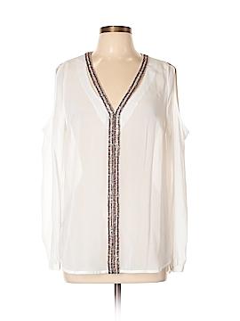 Nicole Miller Long Sleeve Blouse Size L