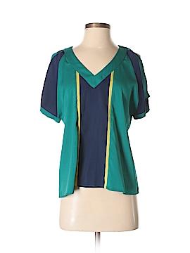 C.Luce Short Sleeve Blouse Size S