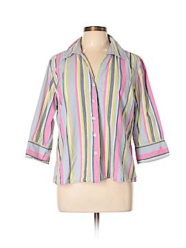 Jamaica Bay 3/4 Sleeve Button-Down Shirt Size XL