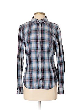 SHiRt Long Sleeve Button-Down Shirt Size S