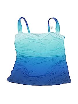 Bleu Rod Beattie Swimsuit Top Size 18W (Plus)