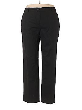 Jones New York Signature Khakis Size 18 (Plus)