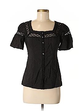 Nanette Lepore Short Sleeve Blouse Size 2