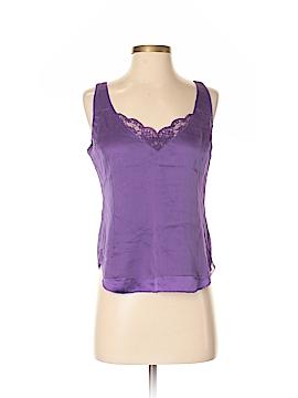 Adrienne Vittadini Sleeveless Silk Top Size 4