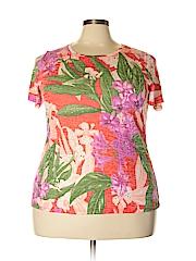 INC International Concepts Women Short Sleeve Top Size 2X (Plus)