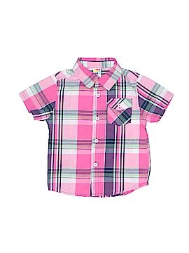 Healthtex Short Sleeve Button-Down Shirt Size 3T