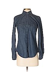 Banana Republic Women Long Sleeve Button-Down Shirt Size XS