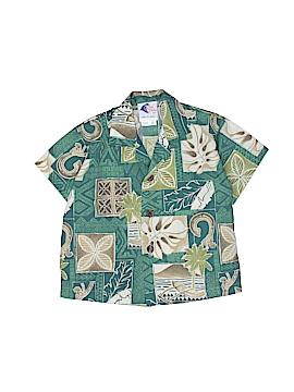 Nui Nalu Short Sleeve Button-Down Shirt Size 18 mo