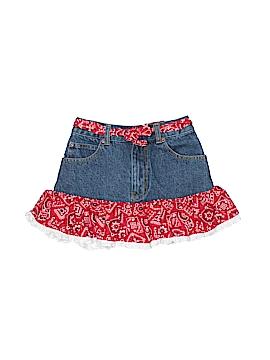 Kiddie Korral Denim Skirt Size 8