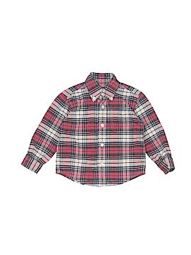 Talbots Kids Long Sleeve Button-Down Shirt Size 2
