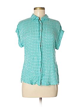 Stylus Short Sleeve Button-Down Shirt Size M
