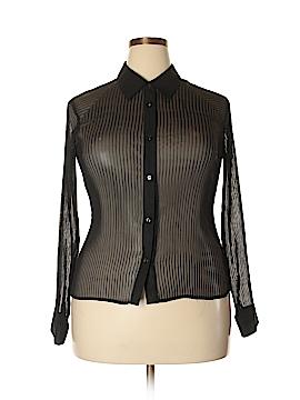 Covington Long Sleeve Blouse Size 18 (Plus)