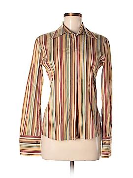 Akris punto Long Sleeve Button-Down Shirt Size 6