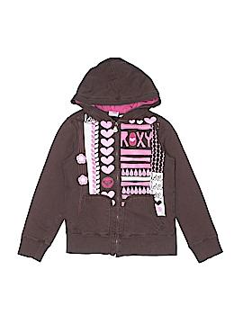 Roxy Zip Up Hoodie Size M (Kids)