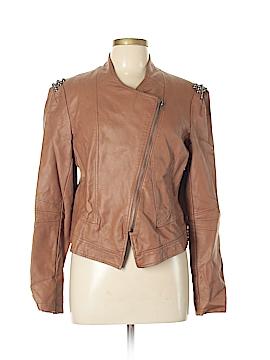 Jolt Faux Leather Jacket Size XL
