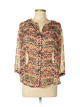 Kim Rogers 3/4 Sleeve Blouse Size S